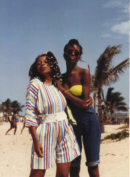 Η Ασάτα με την Κακούγια στην Κούβα